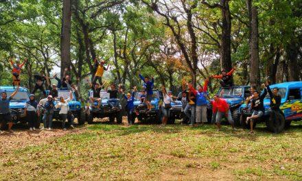 Singaparna Jeep Ciwulan Gelar Silaturahmi Offroad di Bukit Urug