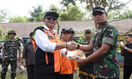 Penyerahan Tanggap Darurat Dari Incident Commander Kepada Wakil Bupati Tasikmalaya