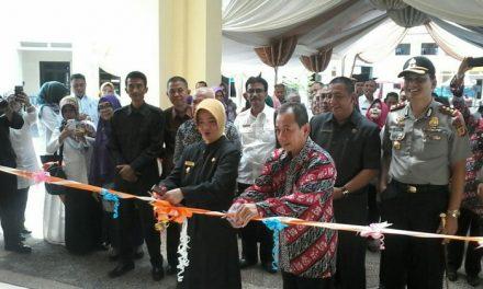 Walikota Banjar Resmikan Gedung Banjar Convention Hall Sekaligus Membuka Gelaran Acara Job Fair 2018