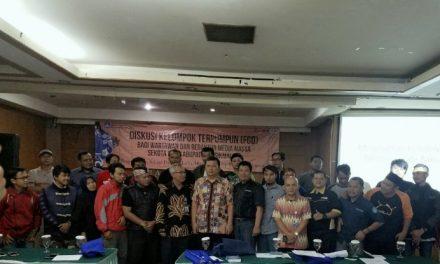 Para Wartawan dan Redaktur Kota/Kab. Tasikmalaya Ikuti Diskusi Kelompok Terpumpun (FGD)