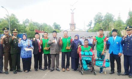 Upacara Peringatan Hari Sumpah Pemuda Ke 90 Tingkat Kabupaten Tasikmalaya Tahun 2018