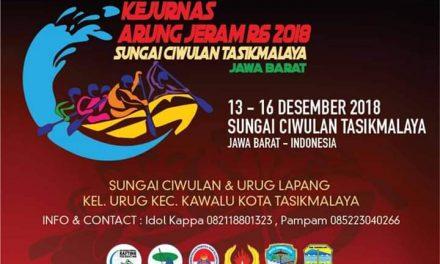 Kejurnas Arung Jeram 2018, Resmi di Buka Walikota Tasikmalaya