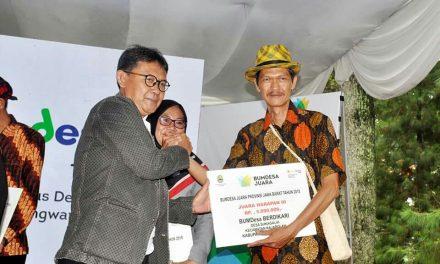 Bumdes Berdikari Desa Sukanagalih Juara Harapan 3 Dalam Lomba Bumdes Tingkat Jabar