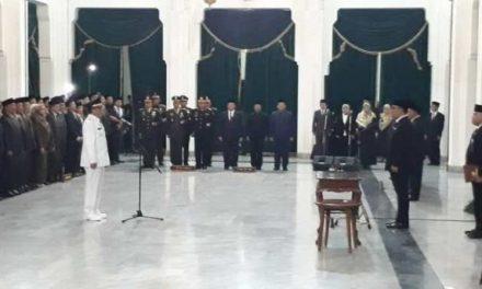 H. Ade Sugianto Resmi Dilantik Bupati, Penataan Birokrasi Menjadi Sasaran Utama