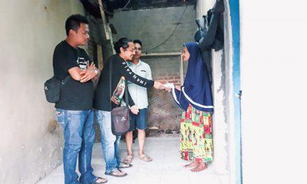 Aksi Sosial, Tim Gema Mitra Peduli Kunjungi Rumah Mak Wati
