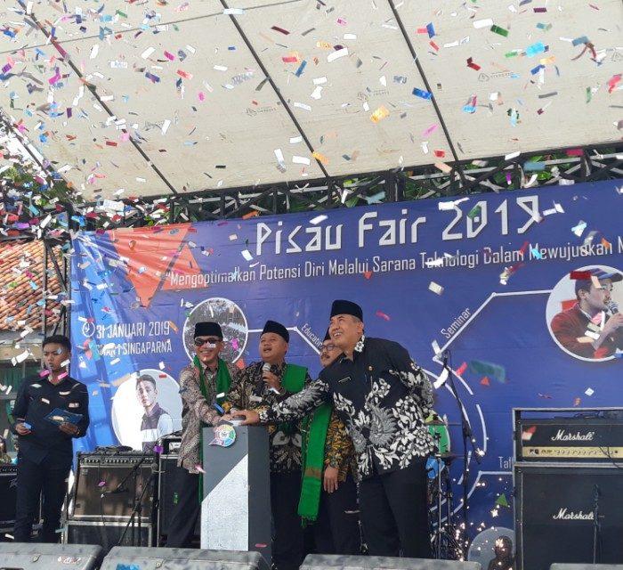 SMAN 1 Singaparna Gelar Pisau Fair 2019, Wagub Uu: Kegiatan Ini Patut di Contoh oleh Semua Sekolah di Jabar