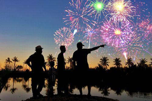 Ragam Acara Perayaan Tahun Baru di Pangandaran