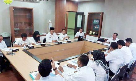 Rapat Tim Koordinasi Pembahasan Kerja Sama Pemda Kab. Tasikmalaya dengan Perbankan