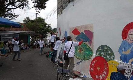 Walikota Budi Berharap: Kegiatan Melukis Mural Menjadi Tonggak Awal Majunya Kawasan Industri Wisata di Tasikmalaya