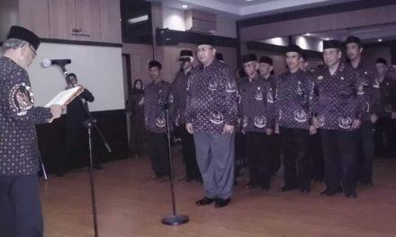 Kol. Inf. H. Suldjana W.H Lantik Pengurus DHC BPK 45 Masa Bakti 2018-2023