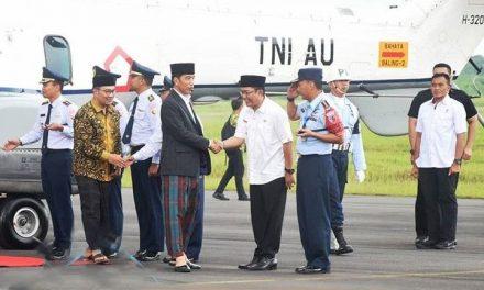 Bupati Tasikmalaya Sambut Kunker Presiden Jokowi di Pangkalan TNI AU Wiriadinata