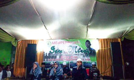 Madrasah Barkatul Huda Menggelar Isra Mi'raj