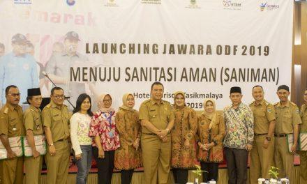 Walikota Tasikmalaya Hadiri Launching Jawara ODF 2019 Menuju Sanitasi Aman
