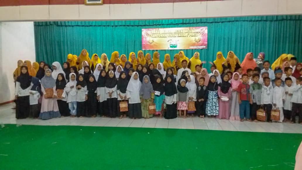 Pandu Beri Santunan 100 Anak Yatim Se-Kota Tasikmalaya