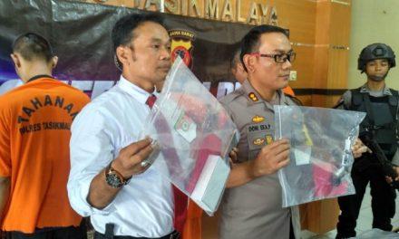 Polres Tasikmalaya Ciduk Perampok Spesialis Mini Market Setelah 7 Hari Pengejaran