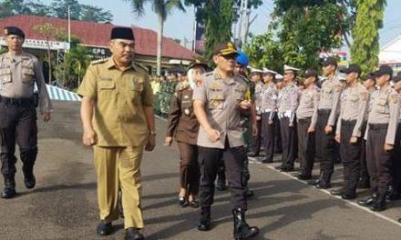 Jelang Idul Fitri 1440 H, Pemkab Tasik Bersama TNI/Polri Gelar Pasukan Operasi Ketupat Lodaya 2019