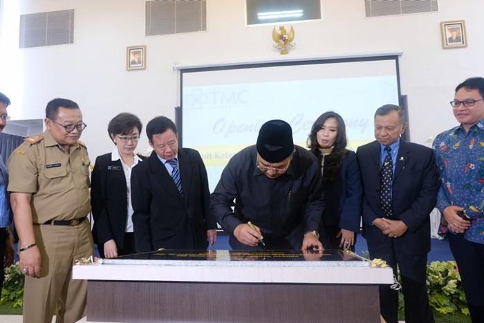 Walikota Tasikmalaya Hadiri Opening Katerisasi Jantung dan Pembuluh Darah