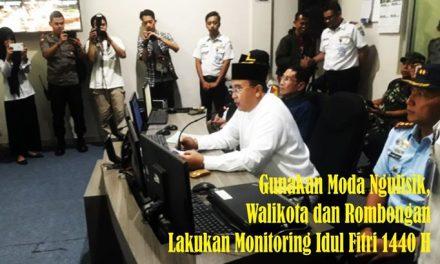 Rombongan Walikota Budi Budiman Lakukan Monitoring Malam Idul Fitri Ke Sejumlah Tempat