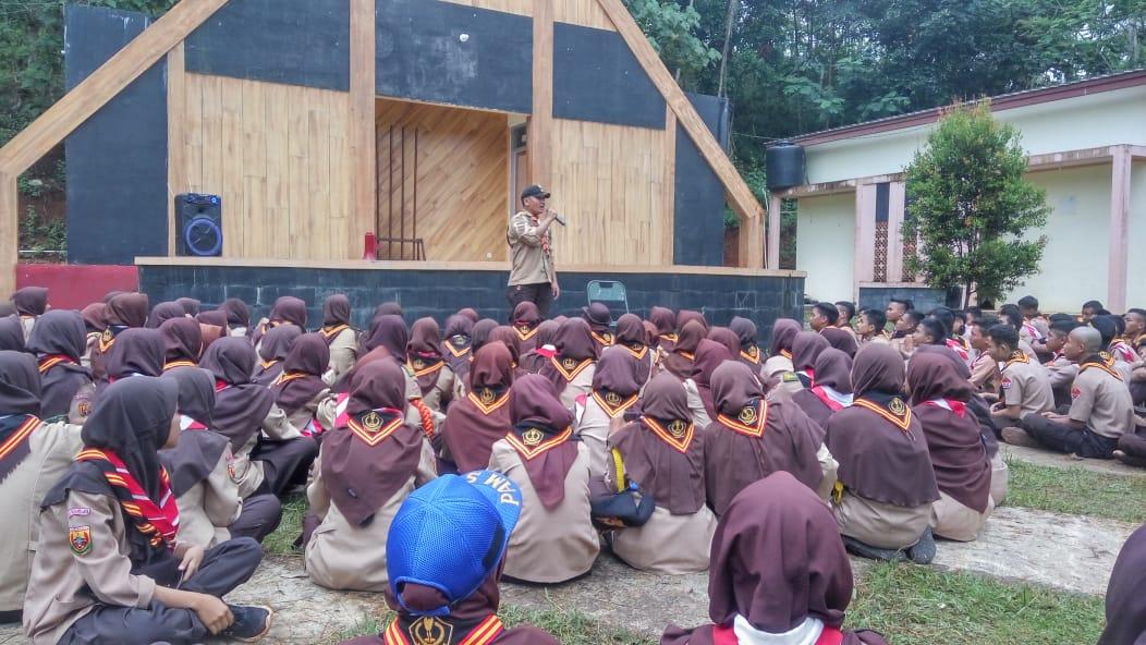Bersama Kodim 0612, Saka Pramuka Wira Kartika Adakan Kemah se-Kota/ Kabupaten Tasikmalaya di Situ Sanghyang