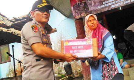 Momentum HUT Bhayangkara Ke 73, Kapolres Tasikmalaya Bersama Danlanud Kunjungi Panti Jompo Welas Asih