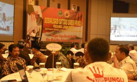 Sosialisasi Satgas Saber Pungli Jawa Barat Se-Priangan Timur, Hapus Pungli!