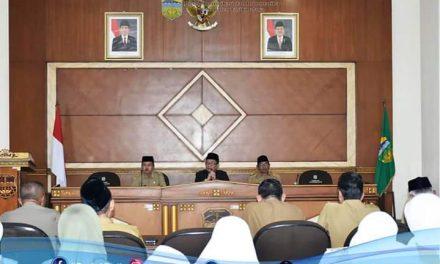 Tindak Lanjut Rapat Paripurna, Bupati Tasikmalaya Konsolidasi Dengan Pimpinan SKPD