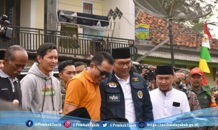 Warga Cisayong Sambut Meriah Kedatangan Gubernur Jawa Barat