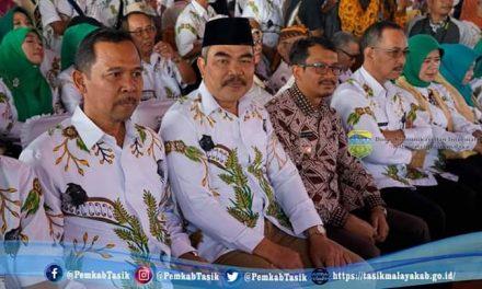 Penjabat Sekda Kabupaten Tasikmalaya Hadiri Hari Krida Pertanian ke-47
