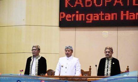 Memperingati HUT Kab. Tasikmalaya Ke-387, DPRD Melakukan Sidang Paripurna Istimewa