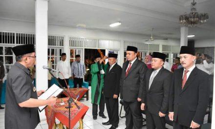 Pelantikan Dewan Pengawas dan Direksi Daerah Usaha Pertambangan oleh Bupati Berlangsung Khidmat
