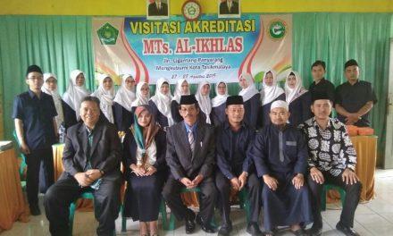 MTs Al-Ikhlas Mangkubumi di Akreditasi, Kepsek: Ini Momentum Evaluasi Diri Sekolah