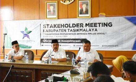 Stakeholder Meeting Kab. Tasikmalaya, Transformasi Perpustakaan Berbasis Inklusi Sosial