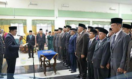 Bupati Tasikmalaya Sumpah dan Lantik Pejabat Pimpinan Tinggi Pratama