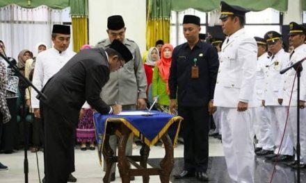 195 Pejabat Administrator Diambil Sumpah Dan Dilantik Oleh Bupati Tasikmalaya