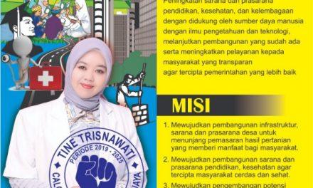 Balon Kades Tanjungjaya Tine Trisnawati Utamakan Peningkatan Sapras Bidang Kesehatan