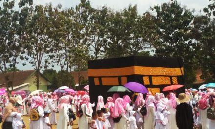 Ribuan Anak RA Kota Tasikmalaya Ikuti Latihan Manasik Haji