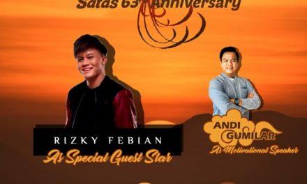 Rizky Febian Siap Meriahkan Anniversary SMAN 1 Tasikmalaya Ke-63