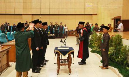 Rapat Paripurna Pengucapan Sumpah/Janji Pimpinan DPRD Kab. Tasikmalaya Masa Jabatan 2019-2024