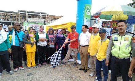 Jalan Sehat di Kawalu, Camat: Momentum HUT ke-18 Kota Tasikmalaya Harus Dijadikan Ajang untuk Bersyukur