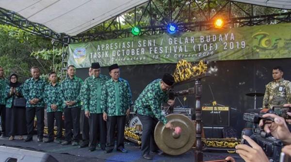 Walikota Budi, Buka Tasik Oktober Festival 2019