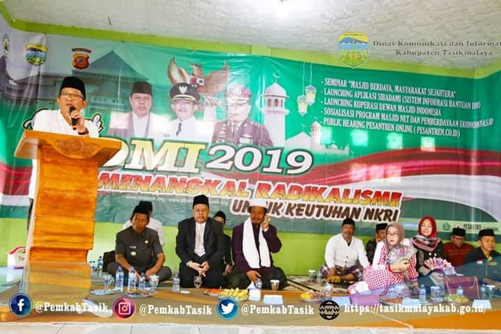 Bupati Ade Hadiri Gebyar DMI 2019 Zona VI