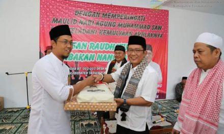 Bupati Tasikmalaya Menghadiri Peringatan Maulid Nabi Muhammad SAW di Babakan Nangka Leuwisari