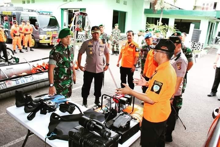 KODIM 0612 Tasikmalaya Gelar Apel Kesiapsiagaan Dalam Penanggulangan Bencana Alam