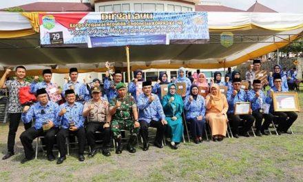 Upacara Peringati HUT Korpri ke-48 di Kabupaten Tasikmalaya Berlangsung Khidmat