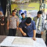 Wali Kota Tasikmalaya Tandatangani Prasasti Pembangunan di Kecamatan Purbaratu TA 2019