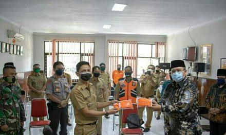 Warga Tawang Dapat Bantuan Masker dari Pemkot