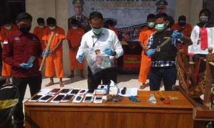 Polisi Gerebek Judi Adu Muncang di Mangunreja, Pelaku Diancam 10 Tahun Penjara