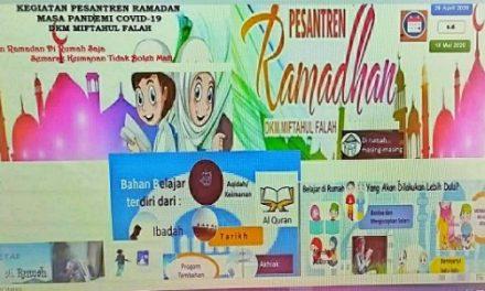 Masa Pandemi Corona-19, DKM Miftahul Falah Tetap Menggelontorkan Program Ramadan