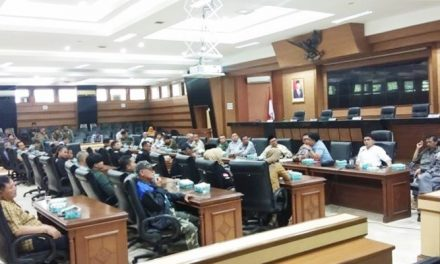 DPRD Kota Tasikmalaya Terima Usulan Audiensi Gabrutas Terhadap Penanganan Geng Motor