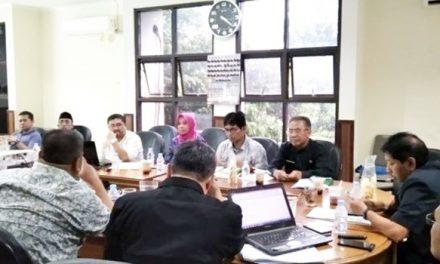 DPRD Kota Tasikmalaya Gelar Raperda Pengembangan dan Perlindungan Usaha Mikro